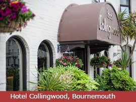 Dance break venue at Hotel Collingwood, Bournemouth