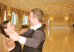 Richmond Ballroom at the Victoria Hotel, Torquay - Dancing Duo dance holiday venue